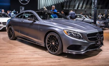 "Another Day, Another ""Night"": Mercedes Announces Night Edition S-class Coupe"