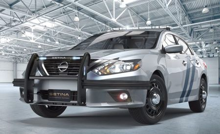 For Lukewarm Pursuits: It's the Nissan Altima Cop Car