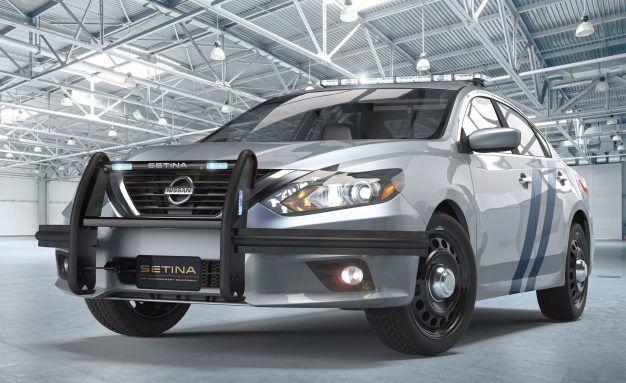 For Lukewarm Pursuits: It's the Nissan Altima Cop Car