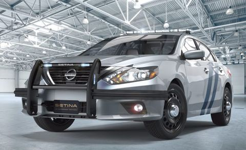 For Lukewarm Pursuits The Nissan Altima Cop Car Is Here News