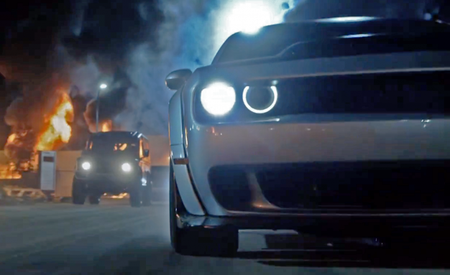 "Is That Wide-Body Dodge Challenger in the ""Fast 8"" Trailer the Rumored Hellcat ADR?"