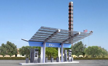 First U.S. 350-kW Charging Station Will Allow Speedy L.A.–Vegas EV Road Trips
