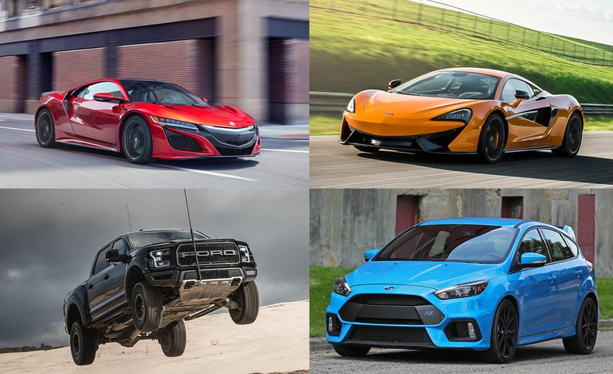 Speed Reading! Car and Driver's Hottest Car Reviews of 2016 - Slide 1
