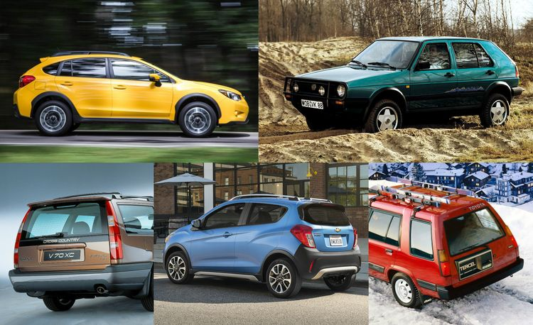 Rugged or Not, Here They Come: 17 Cars Suffering from SUV Envy
