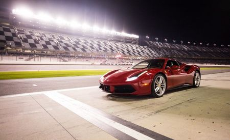 Night Terrors and Super Tex: Driving a Ferrari 488GTB under the Lights at Daytona