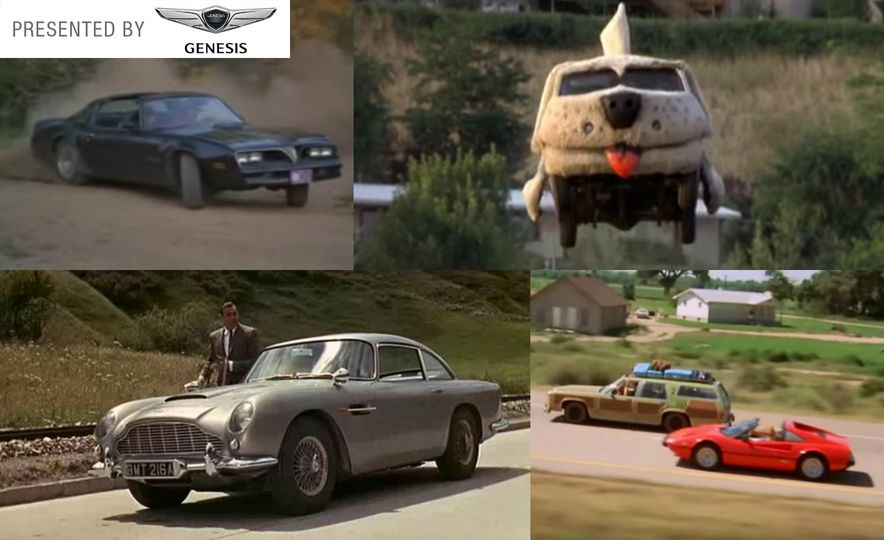 10 of the Coolest Movie Cars of All Time - Slide 1