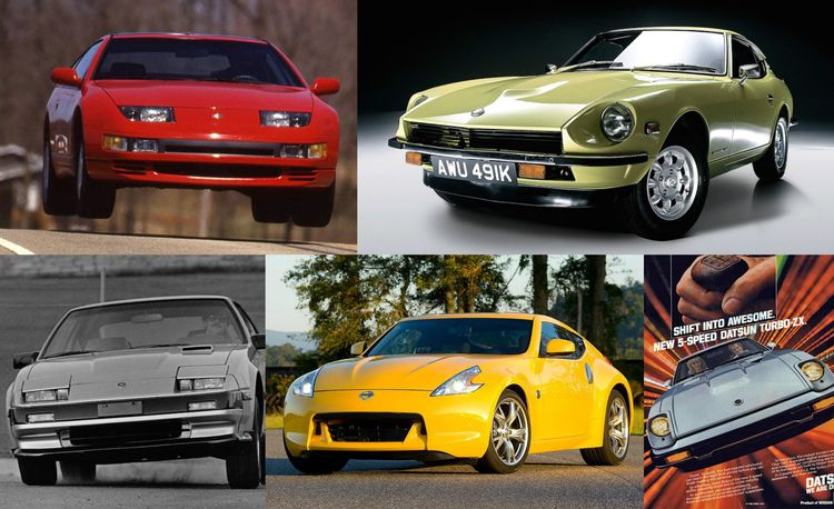 My Fair Lady: A Visual History of the Nissan Z-Car