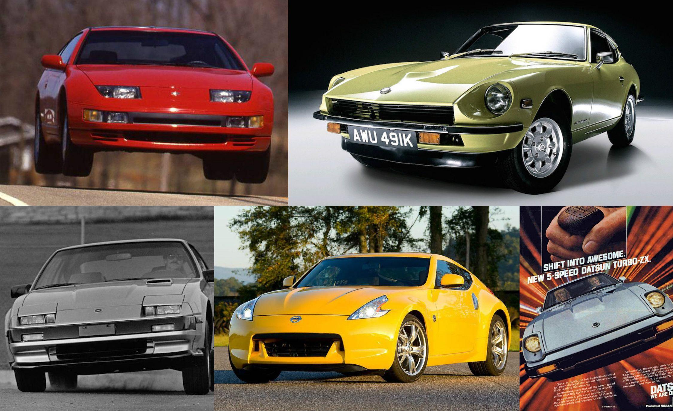 My Fair Lady: A Visual History Of The Nissan Z Car