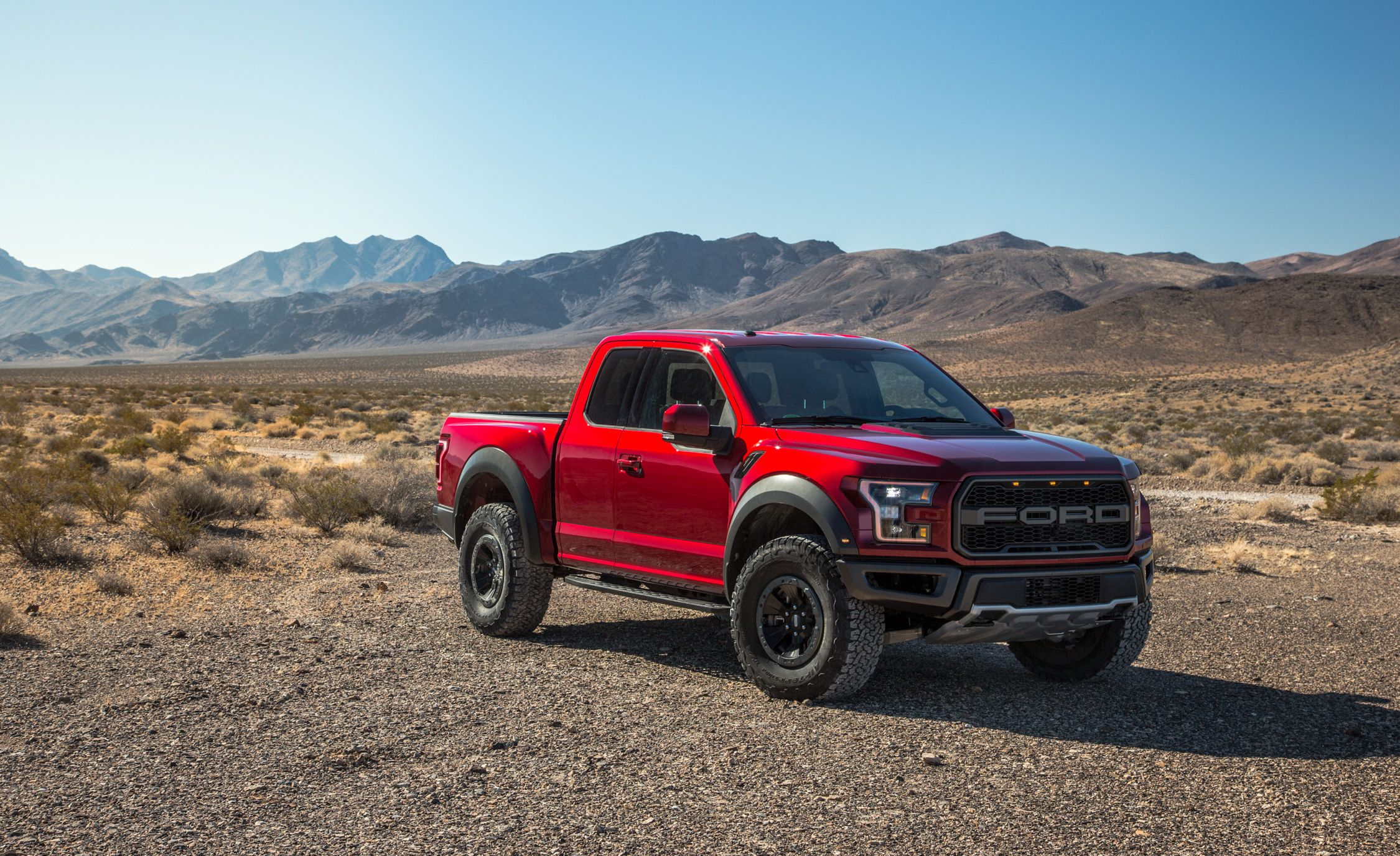 boss ford drive pickup raptor truck f first reviews baja
