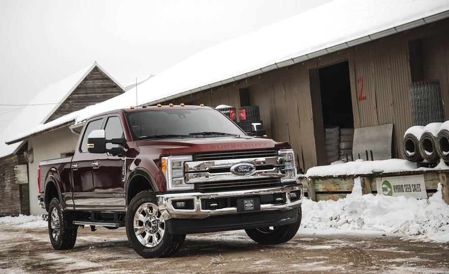 2017 Ford F-350 Super Duty King Ranch - Slide 10