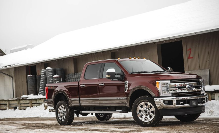2017 Ford F-350 Super Duty King Ranch - Slide 11