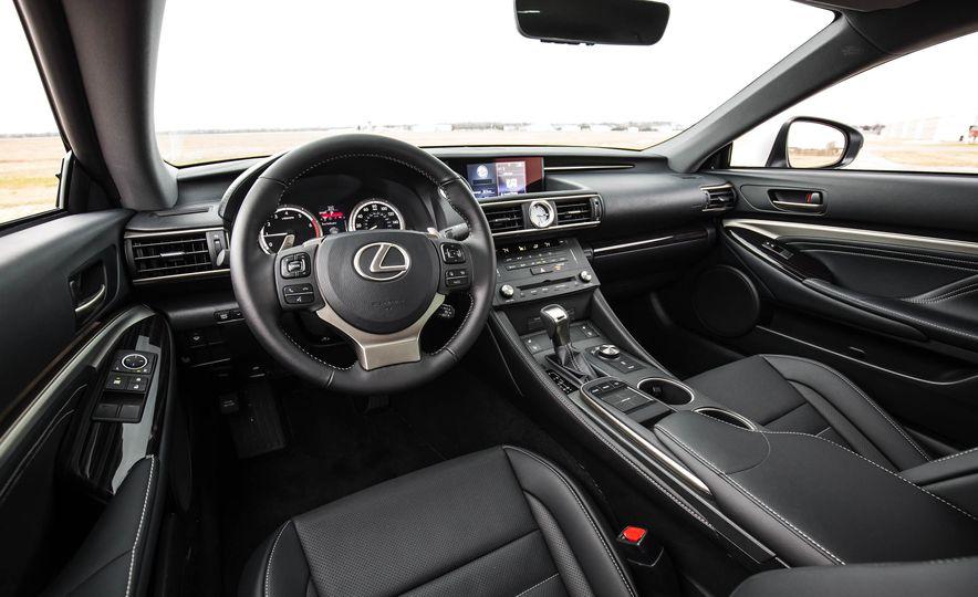 2017 Lexus RC 200t - Slide 25