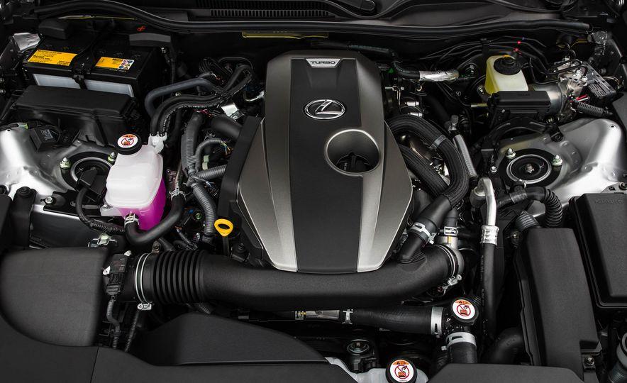 2017 Lexus RC 200t - Slide 46