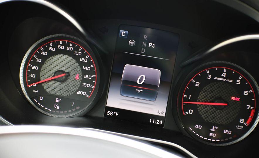 2017 Mercedes-AMG C63 cabriolet - Slide 36