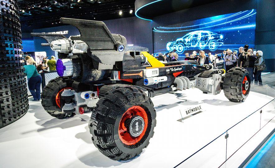 Bat Blocks: Lego Builds a Batmobile for Chevrolet - Slide 5