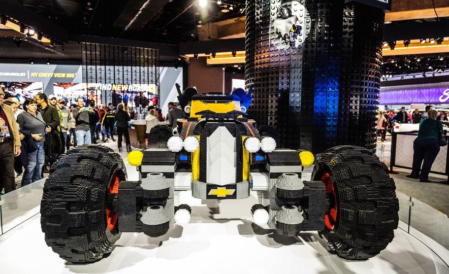 Bat Blocks: Lego Builds a Batmobile for Chevrolet - Slide 7