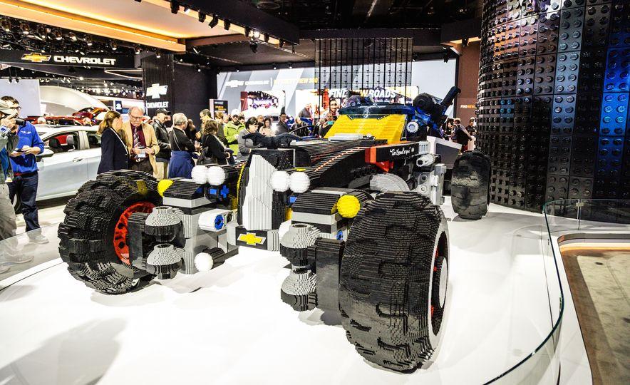 Bat Blocks: Lego Builds a Batmobile for Chevrolet - Slide 3
