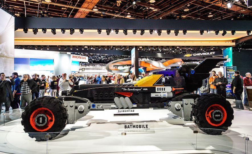 Bat Blocks: Lego Builds a Batmobile for Chevrolet - Slide 4