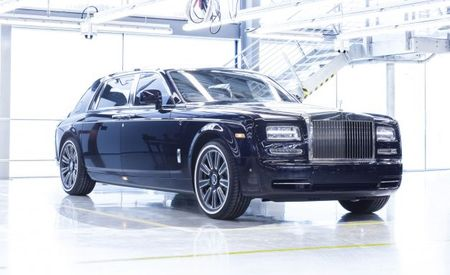 Final Rolls-Royce Phantom Sails into the Velvet Blue Yonder