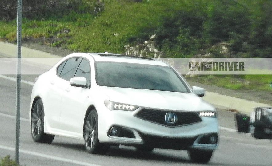 2018 Acura TLX (spy photo) - Slide 2