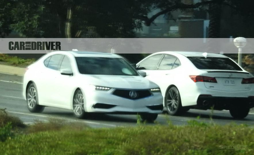 2018 Acura TLX (spy photo) - Slide 4