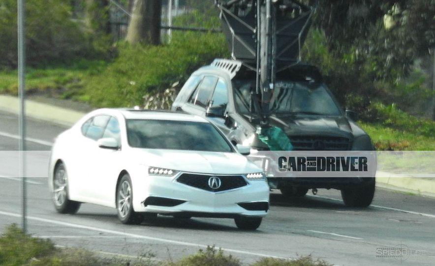 2018 Acura TLX (spy photo) - Slide 6
