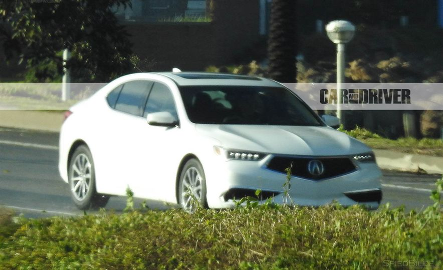 2018 Acura TLX (spy photo) - Slide 9