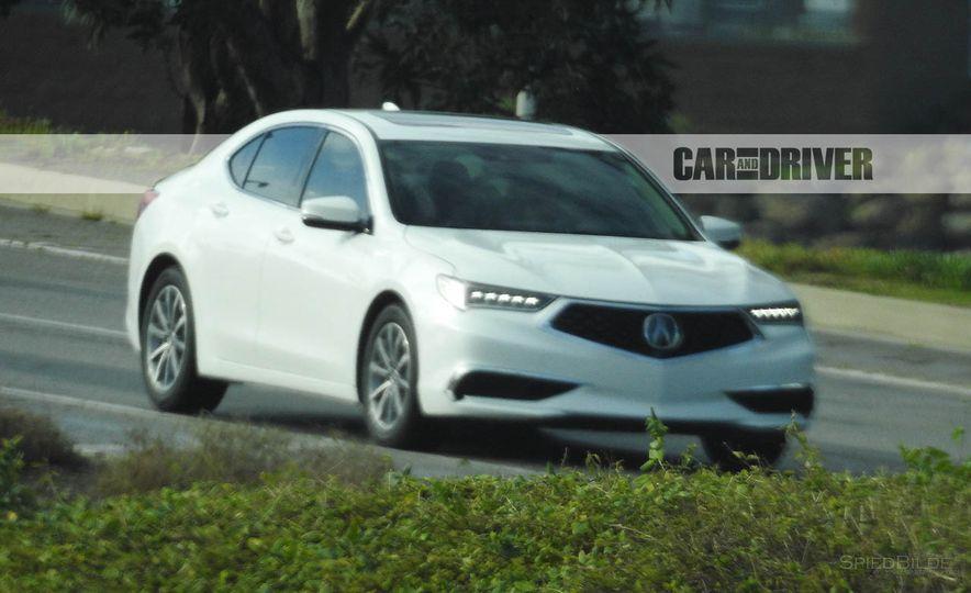 2018 Acura TLX (spy photo) - Slide 8