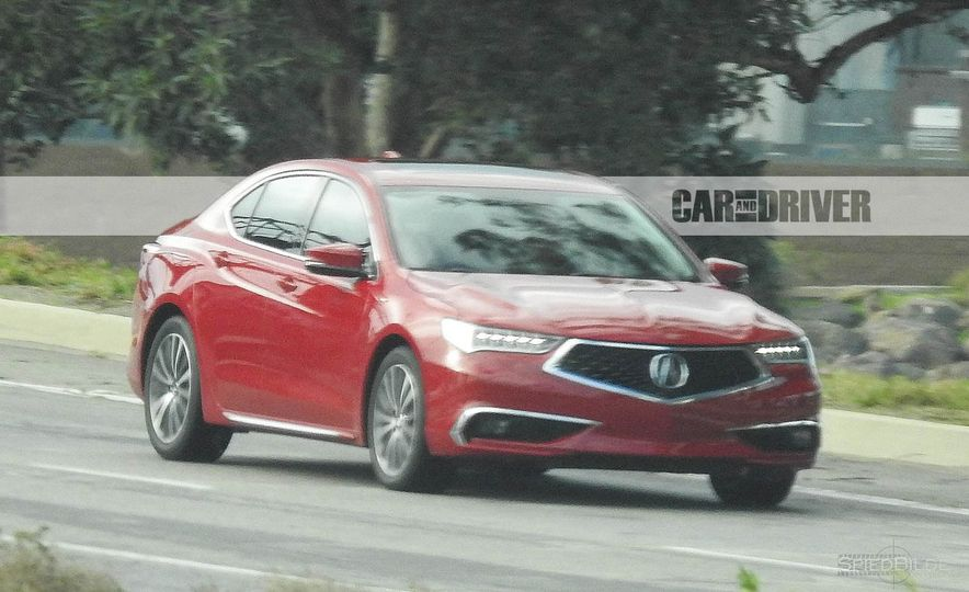 2018 Acura TLX (spy photo) - Slide 11