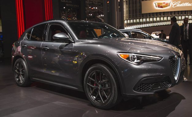 Here's Our First Look at the Alfa Romeo Stelvio SUV in Non-Quadrifoglio Form
