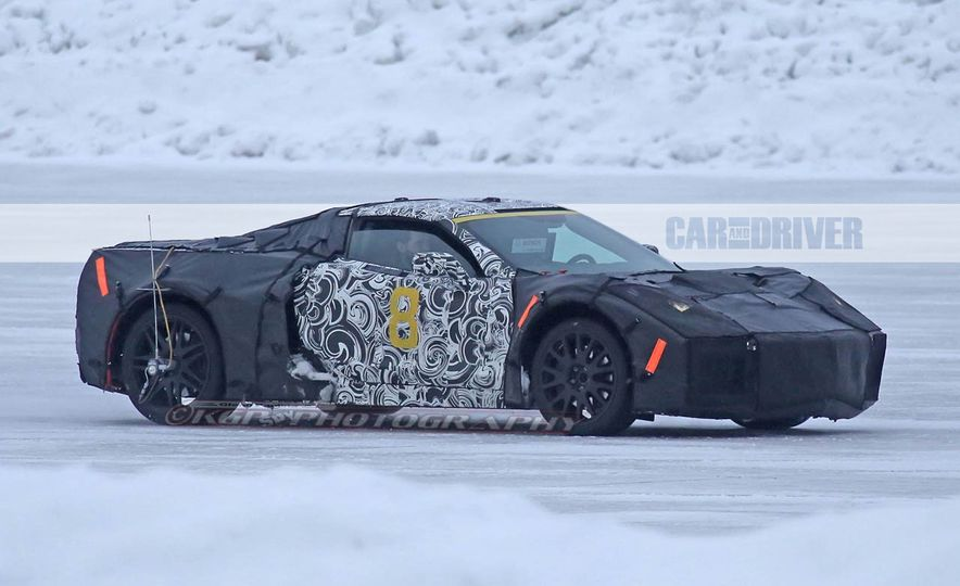 2019 Chevrolet Corvette C8 and 2018 Chevrolet Corvette ZR1 (spy photo) - Slide 9