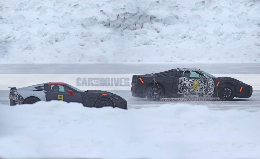 2019 Chevrolet Corvette C8 and 2018 Chevrolet Corvette ZR1 (spy photo) - Slide 4