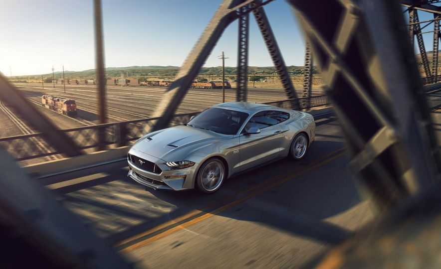 2018 Ford Mustang coupe Pictures  Photo Gallery  Car and Driver