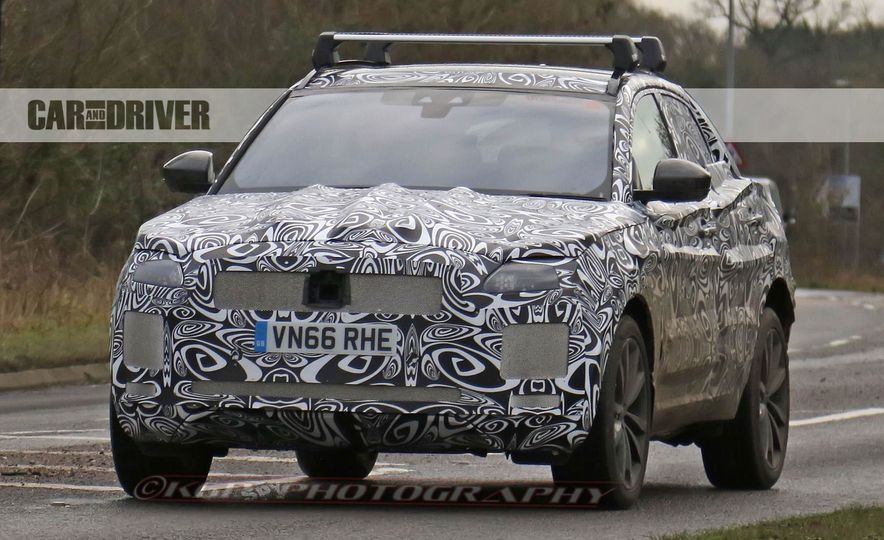 2018 Jaguar E-Pace (spy photo) - Slide 1