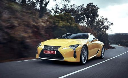 Sub Six Figures: Lexus Announces Pricing for 2018 LC Coupe Lineup