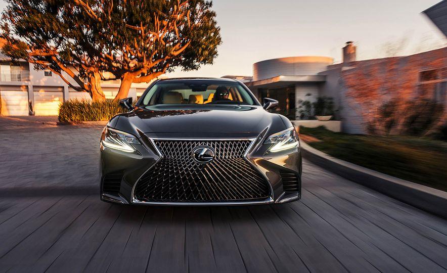 2018 Lexus LS 500 - Slide 54