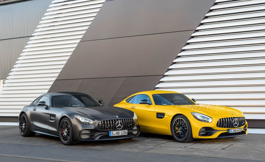 2018 Mercedes-AMG GT C Edition 50 coupe & 2018 Mercedes-AMG GT S - Slide 19