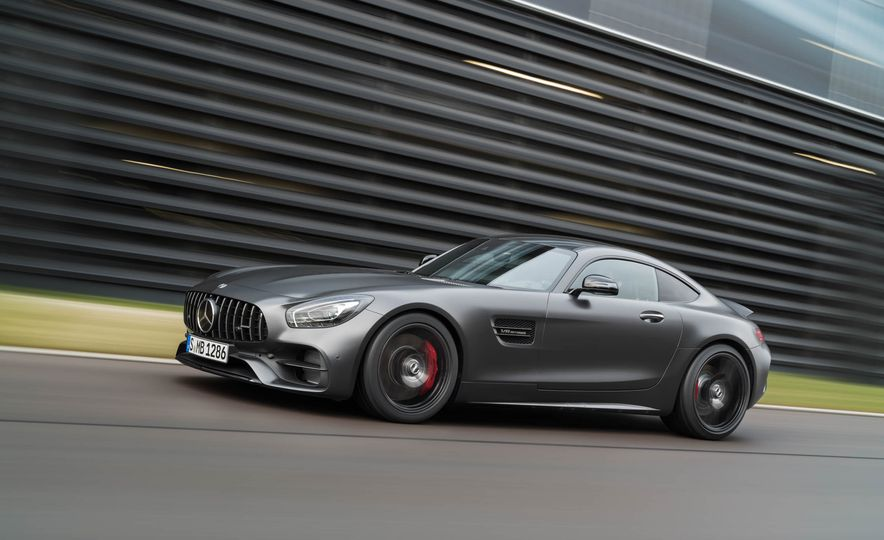 2018 Mercedes-AMG GT C Edition 50 coupe & 2018 Mercedes-AMG GT S - Slide 20