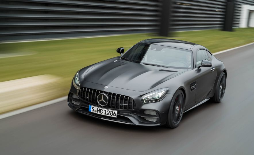 2018 Mercedes-AMG GT C Edition 50 coupe & 2018 Mercedes-AMG GT S - Slide 21