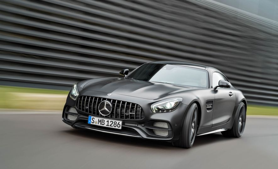 2018 Mercedes-AMG GT C Edition 50 coupe & 2018 Mercedes-AMG GT S - Slide 22
