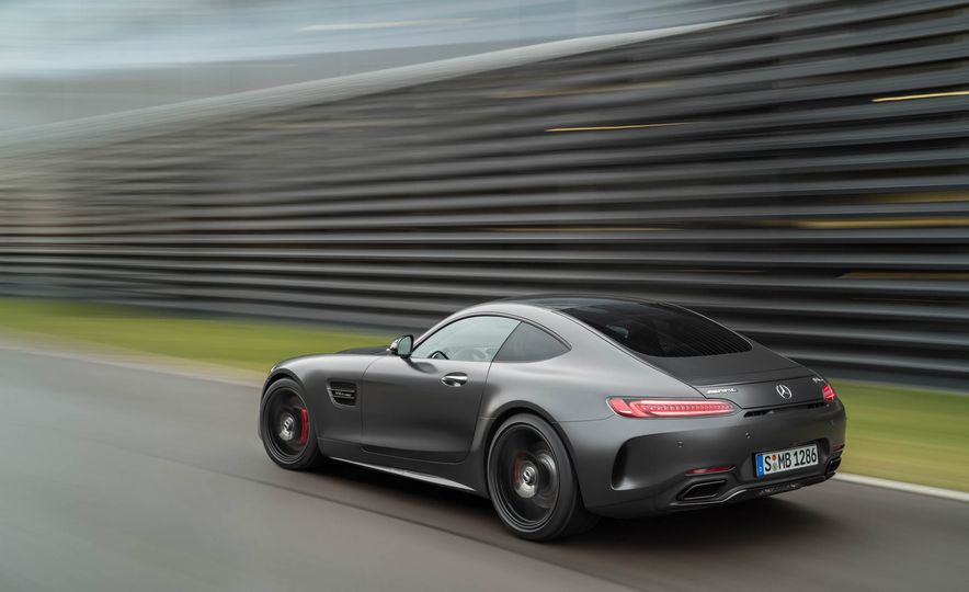 2018 Mercedes-AMG GT C Edition 50 coupe & 2018 Mercedes-AMG GT S - Slide 23