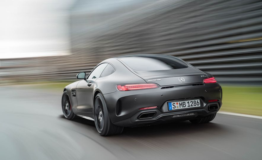2018 Mercedes-AMG GT C Edition 50 coupe & 2018 Mercedes-AMG GT S - Slide 24
