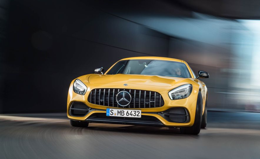 2018 Mercedes-AMG GT C Edition 50 coupe & 2018 Mercedes-AMG GT S - Slide 34