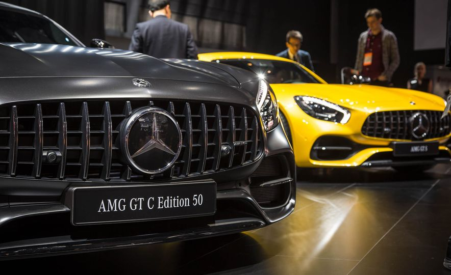 2018 Mercedes-AMG GT C Edition 50 coupe & 2018 Mercedes-AMG GT S - Slide 1