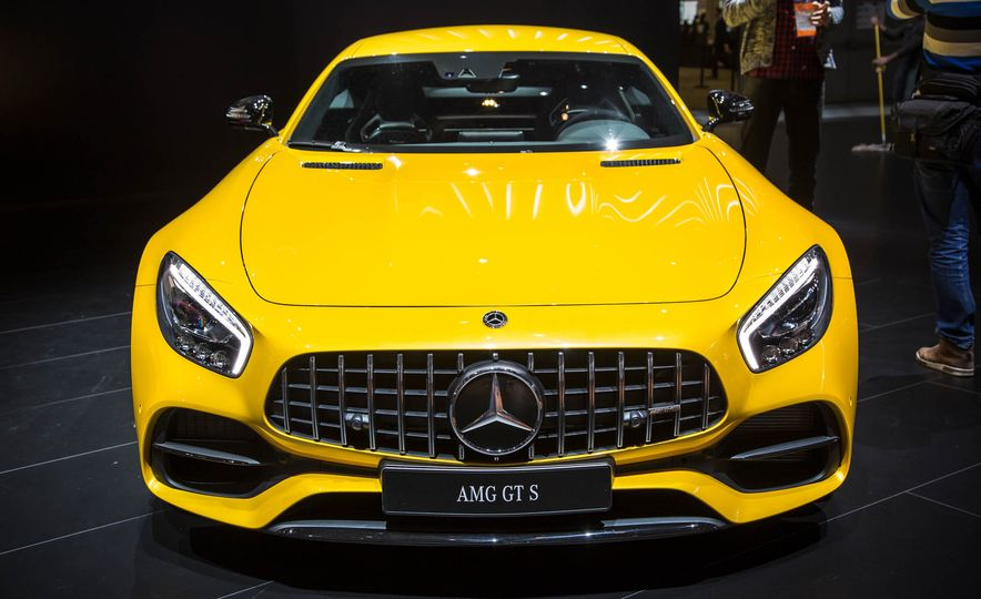 2018 Mercedes-AMG GT C Edition 50 coupe & 2018 Mercedes-AMG GT S - Slide 2