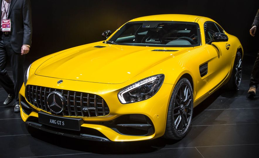 2018 Mercedes-AMG GT C Edition 50 coupe & 2018 Mercedes-AMG GT S - Slide 3