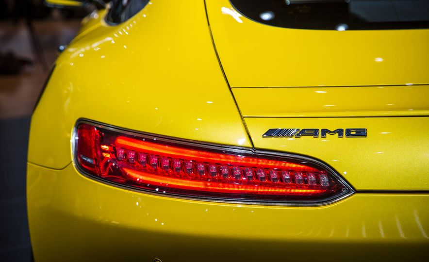 2018 Mercedes-AMG GT C Edition 50 coupe & 2018 Mercedes-AMG GT S - Slide 6