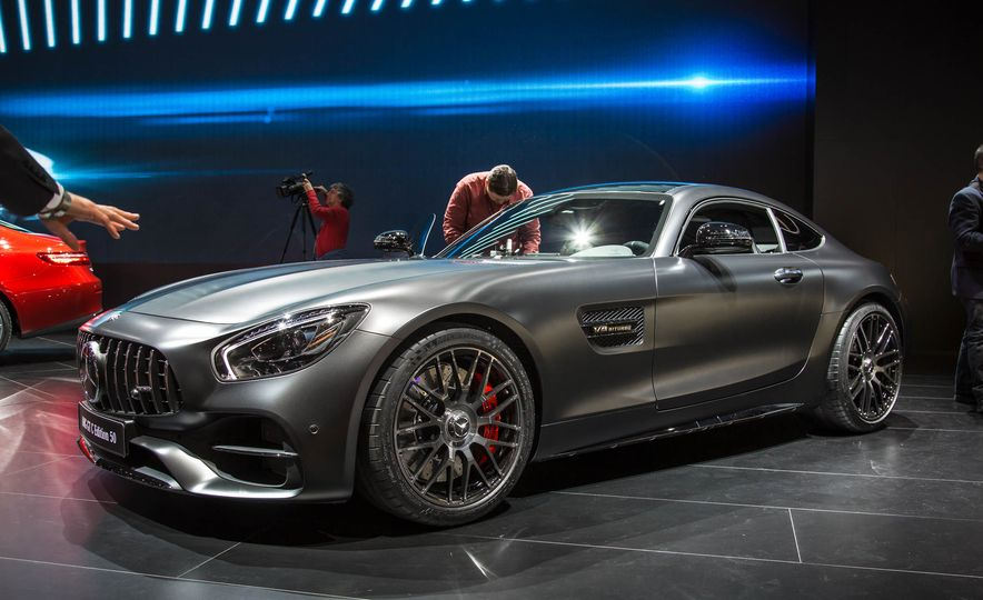 2018 Mercedes-AMG GT C Edition 50 coupe & 2018 Mercedes-AMG GT S - Slide 10