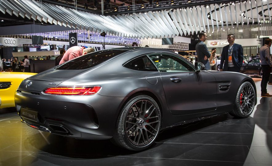 2018 Mercedes-AMG GT C Edition 50 coupe & 2018 Mercedes-AMG GT S - Slide 11