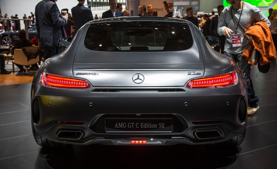 2018 Mercedes-AMG GT C Edition 50 coupe & 2018 Mercedes-AMG GT S - Slide 12